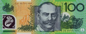Австралийский доллар100р