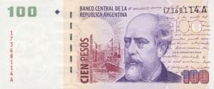 Аргентинские песо100а