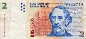 Аргентинские песо2а