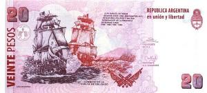 Аргентинские песо20р