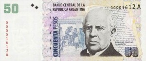 Аргентинские песо50а