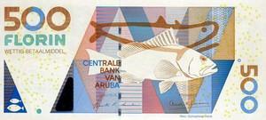 Арубанский флорин 500а