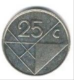 Арубанский цент 25а