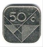 Арубанский цент 50а