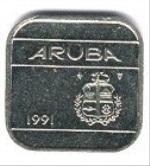 Арубанский цент 50р