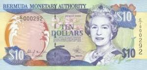 Бермудский доллар 10а