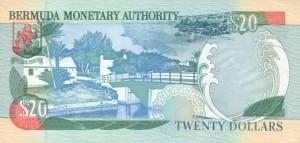 Бермудский доллар 20р