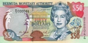 Бермудский доллар 50а