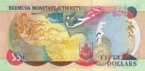 Бермудский доллар 50р