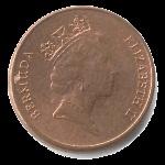 Бермудский цент 1а