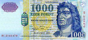 Венгерский форинт1000а