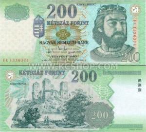 Венгерский форинт200