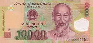 Вьетнамский донг10000а