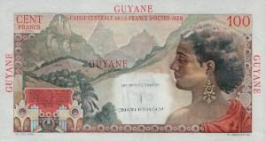 Гвианский франк 1р