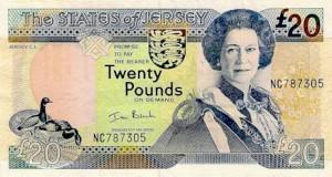 Джерсийский фунт20а