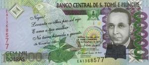 Добра Сан-Томе и Принсипи 100000а