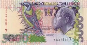 Добра Сан-Томе и Принсипи 5000а