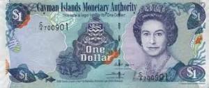 Доллар Каймановых Островов 1а