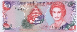 Доллар Каймановых Островов 10а