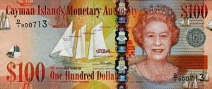Доллар Каймановых Островов 100а