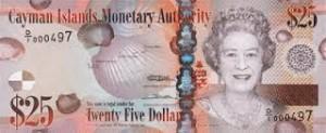 Доллар Каймановых Островов 25а