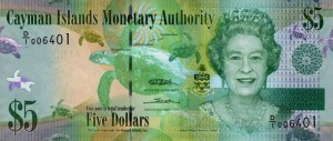 Доллар Каймановых Островов 5а
