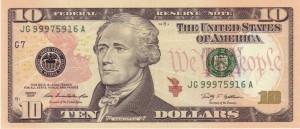 Доллар США10