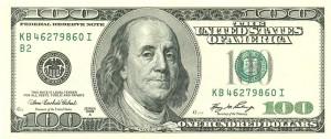 Доллар США100