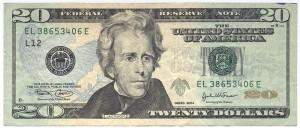 Доллар США20