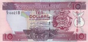 Доллар Соломоновых Островов 10а