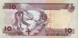 Доллар Соломоновых Островов 10р