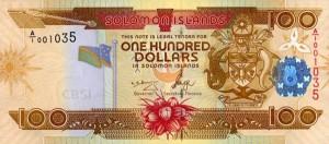 Доллар Соломоновых Островов 100а