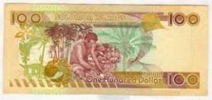 Доллар Соломоновых Островов 100р