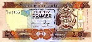 Доллар Соломоновых Островов 20а