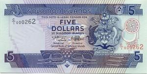 Доллар Соломоновых Островов 5а