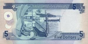 Доллар Соломоновых Островов 5р