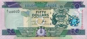 Доллар Соломоновых Островов 50а