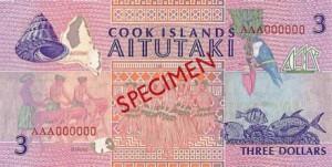 Доллар островов Кука 3р