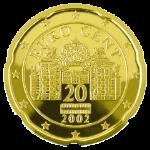 Евроцент Австрия20а
