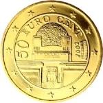 Евроцент Австрия50а