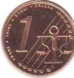 Евроцент Венгрия1а