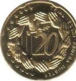 Евроцент Венгрия20а
