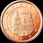 Евроцент Испания1а