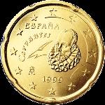 Евроцент Испания20а