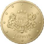 Евроцент Латвия10а