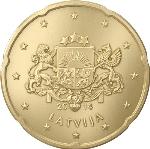 Евроцент Латвия20а
