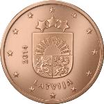 Евроцент Латвия5а