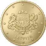 Евроцент Латвия50а