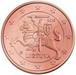 Евроцент Литва1а