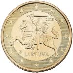 Евроцент Литва50а